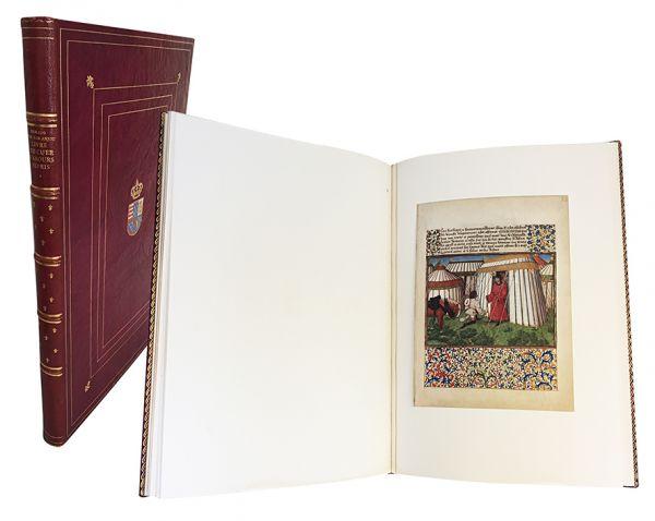 René D'Anjou - Le Livre du cœur d'amour épris. (Das Buch vom liebentbrannten Herzen)