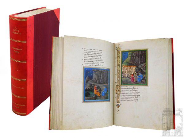 Dante Alighieri - La Divina Commedia (Die Göttliche Komödie). Dante Urbinate della Biblioteca Vatica