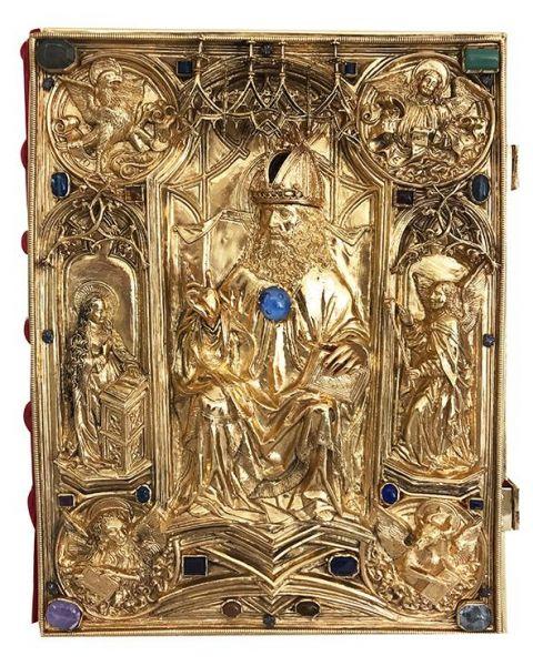 Krönungsevangeliar des Heiligen Römischen Reiches - Gospels of the Holy Roman Empire