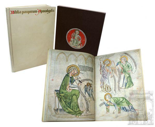 Biblia Pauperum Apocalypsis. Die Weimarer Handschrift