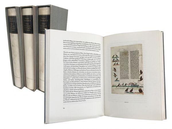 Über die Kunst mit Vögeln zu jagen = Falkenbuch Friedrich II. = De Arte Venandi Cum Avibus