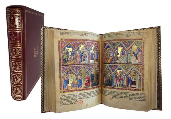 Die Bible Moralisée aus Neapel - Biblie der Naples. Bible Moralisée of Naples