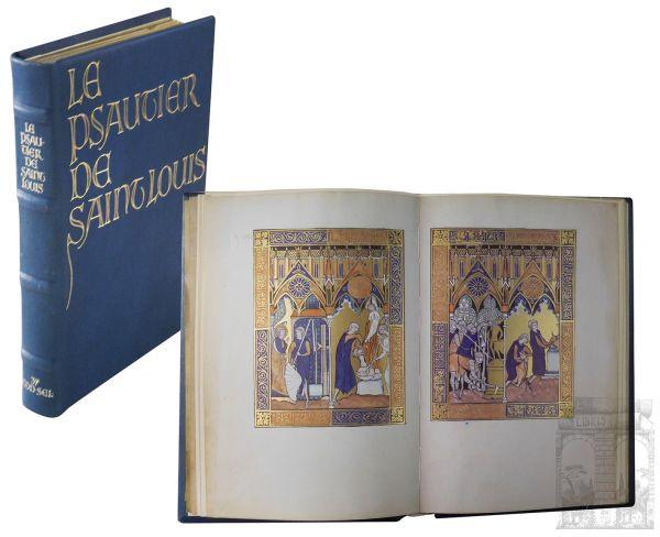 Psalter Ludwigs des Heiligen, Le Psautier de Saint Louis. The Psalter of Louis the Saint