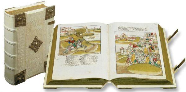 Diebold Schillings Spiezer Bilderchronik - Diebold Schilling's Spiez Ilumminated Chronicle