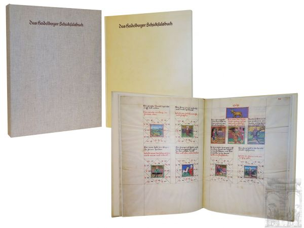 Das Heidelberger Schicksalsbuch. Astrolabium Planum of Heidelberg