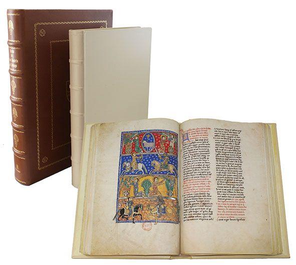 Beato de Liébana. Codex San Andres de Arroyo. Beatus Apokalypse aus dem Kloster San Andres de Arroy
