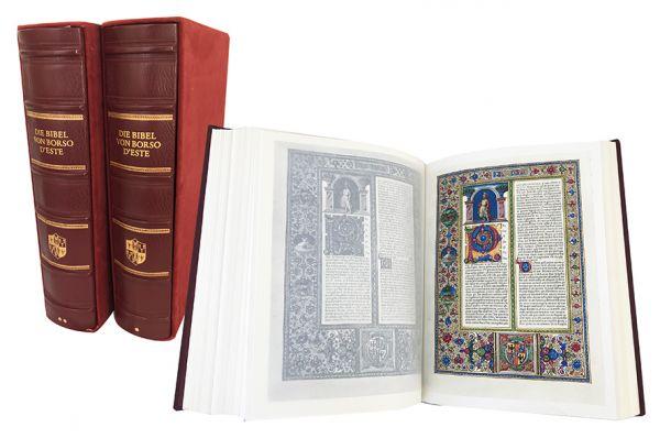 Die Bibel des Borso d'Este (= La Bibbia di Borso d'Este)