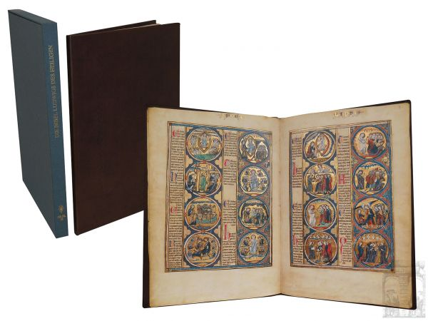 Die Bibel Ludwigs des Heiligen. The Picture Bible of King Louis