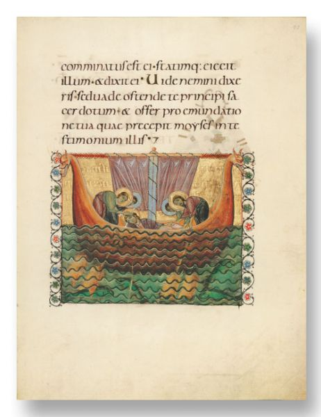 Das Salzburger Perikopenbuch - Salzburg Pericopes