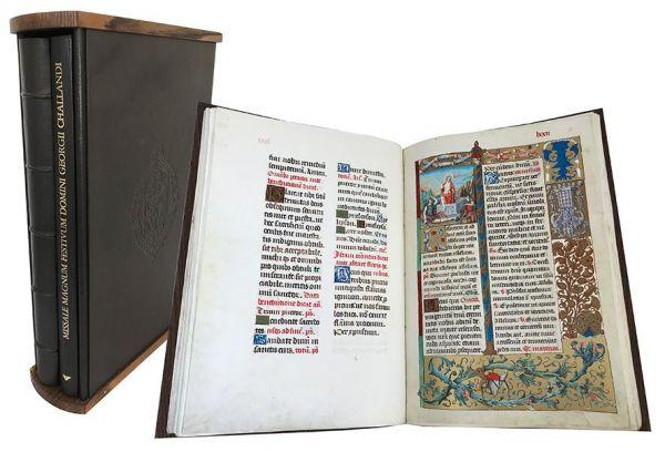 Missale des Giorgio di Challant - Missale Magnum Festivum Georgii Challandi
