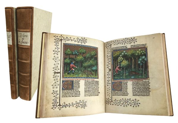 Gaston Phoebus - Le Livre de la Chasse. Das Buch der Jagd. The Master of Game