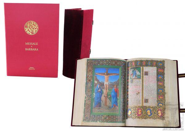 Das Missale der Barbara von Brandenburg-Gonzaga - Missal of Barbara of Brandenburg