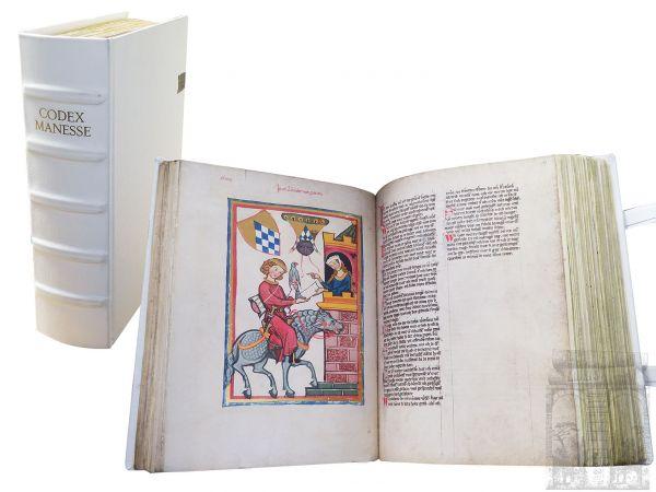 Codex Manesse - Die Große Heidelberger Liederhandschrift